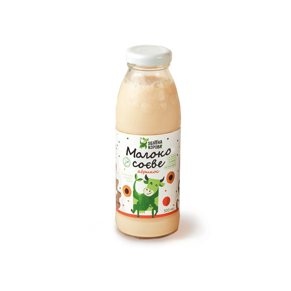 Молоко соевое абрикос 300 мл