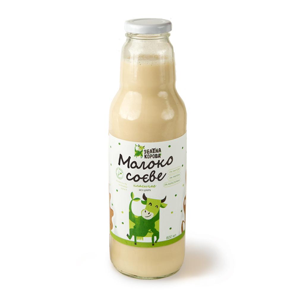 молоко соевое классическое без сахара 800 мл