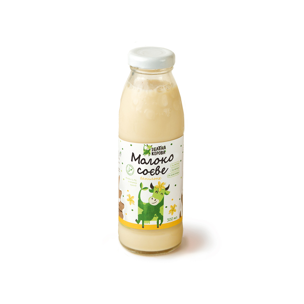молоко соевое ванильное 300 мл