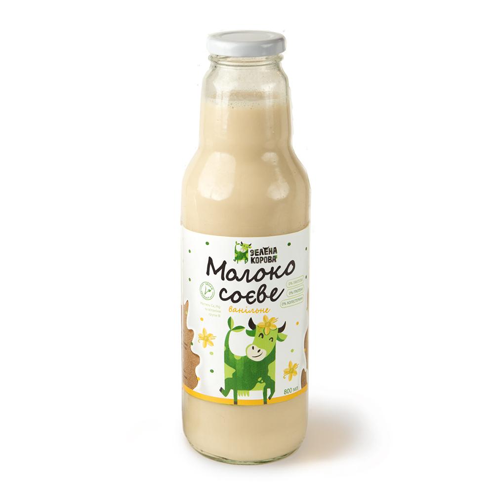 молоко соевое ванильное 800 мл