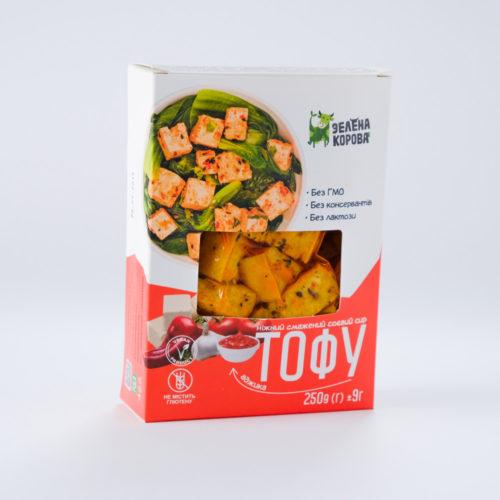 Тофу жареный аджика