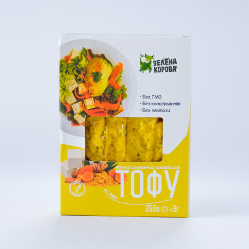 Тофу жареный карри