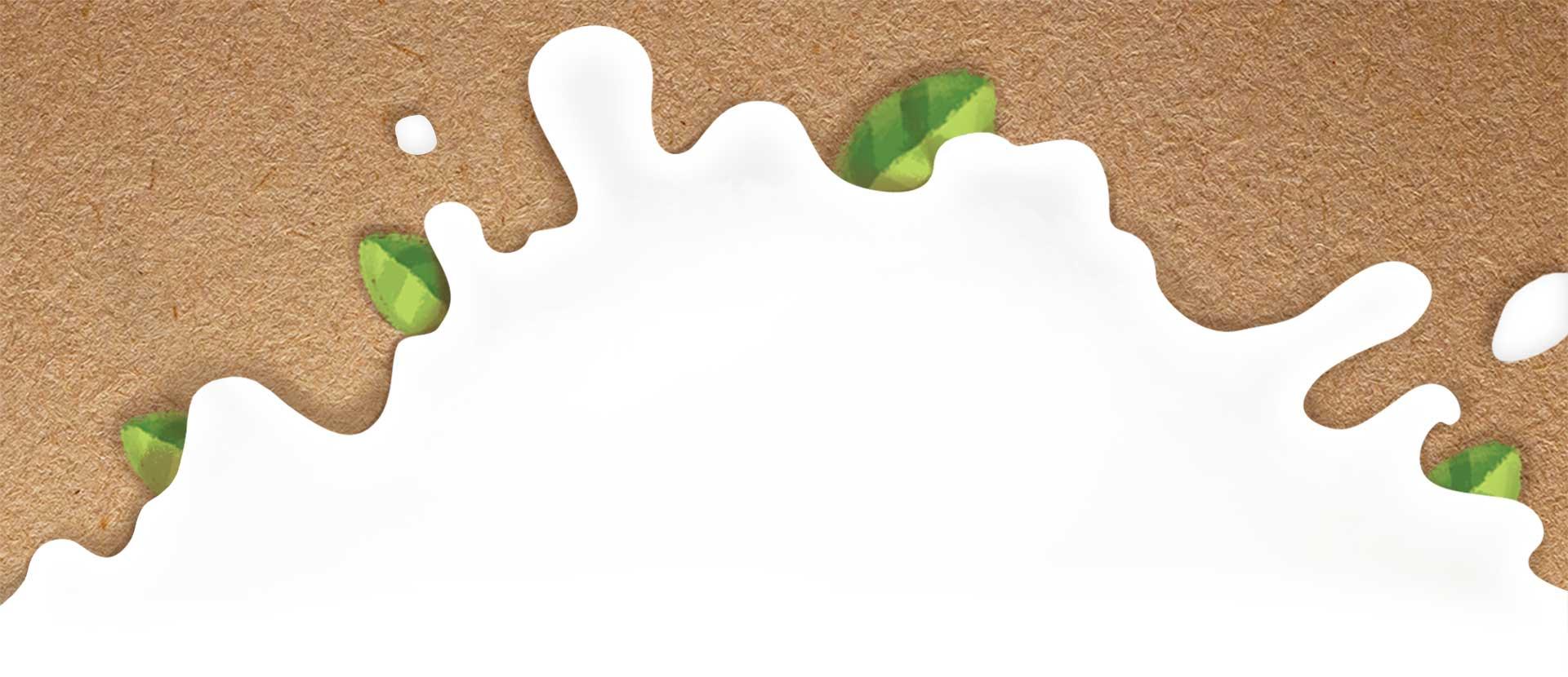 Зелена корова фон